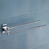 Gedy by Nameeks Maine Jointed Double Wall Mounted Towel Bar