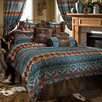 Carstens Inc. Turquoise Chamarro Comforter Set