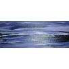 Angela Rose Gallery Purple Horizon Art Print Wrapped on Canvas