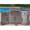 Lifestyle Appliances 226cm Bahama Island Gas Barbecue