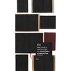 NLXL Biblioteca for use with EKA-05 6.6m L x 48.7cm W Geometric Distressed Roll Wallpaper