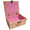 CandiGifts Premium Natural Wicker Basket
