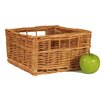 CandiGifts Superior Square Storage Wicker Basket