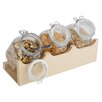 APS Good Morning Buffet Stand Set (Set of 4)