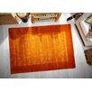 Metro Lane Handgewebter Teppich Mila in Rostbraun