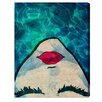 Oliver Gal Watercoveted Graphic Art Print on Canvas