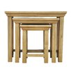 Hazelwood Home Naramata 3 Piece Nest of Tables