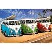 NEXT! BY REINDERS Wandbild Volkswagen Bulli T1