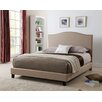 Living In Style Brittany Upholstered Platform Bed