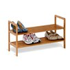 Wayfair Basics 2 Tier Bamboo Shoe Shelf