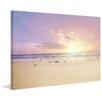 Marmont Hill The Beach is My Happy Place Photographic Print Wrapped on Canvas