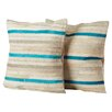 Lybarger Cotton Throw Pillow (Set of 2)