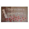 Pedrini LifeStyle-Mat Kitchen Hearts Doormat