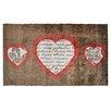 Pedrini LifeStyle-Mat 3 Hearts Doormat