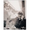 """House Additions """"James Dean NYC 1955"""" by Stock Photographic Print Plaque"""