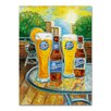 """Miller Coors """"Summer"""" by Blue Moon Painting Print on Wrapped Canvas"""
