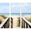 Pro-Art Glasbild Sky And Sand III, Kunstdruck