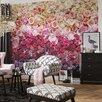Komar Intense 2.54m L x 368cm W Floral and Botanical Tile/Panel Wallpaper