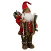House Additions Santa Claus with Skis Figure