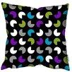 We Love Cushions Blue Retro Scatter Cushion