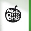 Cut It Out Wall Stickers Apples Make You Feel Better Wall Sticker