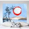 MADEMOISELLE TISS Wandbehang Sous La Lune