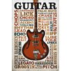 NEXT! BY REINDERS Guitar Lingo Photographic Print