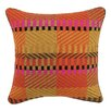 Trina Turk Residential Vintage Weave Needlepoint Linen Throw Pillow