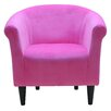 Tiffany Leather Armchair Amp Reviews Allmodern