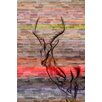 Parvez Taj Antelope Graphic Art Wrapped on Canvas
