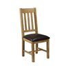 Three Posts Gorham Solid Oak Upholstered Dining Chair (Set of 2)