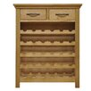 Hazelwood Home Naramata 30 Bottle Tabletop Wine Cabinet