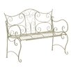 Home & Haus Roxen Iron Bench