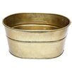 A&B Home Ferrum Galvanized Iron Oval Tub