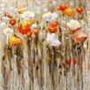Vintage Boulevard Flowers Original Painting
