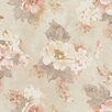 Galerie Home Vintage Damask Rose 10m L x 53cm W Floral and Botanical Roll Wallpaper