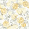 Galerie Home English on White Ground 10m L x 53cm W Floral and Botanical Roll Wallpaper