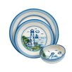 Hadley Pottery Company Lighthouse 3 Piece Place Setting, Service for 1