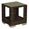 World Wide Wicker Naples End Table