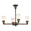 Meyda Tiffany Revival Oyster Bay Goblet 4-Light Shaded Chandelier