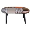 MONKEY MACHINE Patchwork Upholstered Bedroom Bench