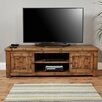 """Baumhaus Heyford Rough Sawn Oak TV Stand for TVs up to 85"""""""