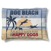 Laural Home Dog Beach Fleece Dog Bed