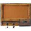 Carrick Design Heartwood Wall Mounted Bulletin Board 38cm H x 51cm W