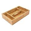 Castleton Home Bamboo Kitchen Silverware Tray