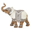 Cole & Grey Polystone Elephant Figurine