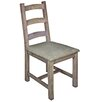 Hazelwood Home Alsager Solid Wood Upholstered Dining Chair
