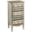 Hazelwood Home 5 Drawer Storage Cabinet
