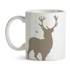 GiggleBeaver Woodland Creature Comforts Stag Mug (Set of 2)