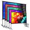 Elite Screens YardMaster2 White Portable Projection Screen